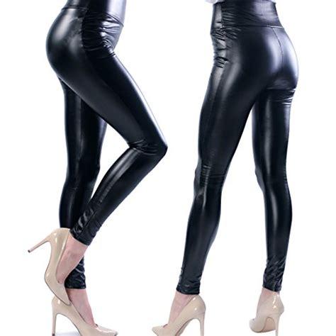 Legging Lil Abu Abu ts s high faux leather stretch tights xl black buy in uae
