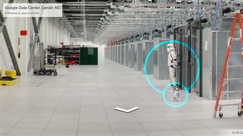 design server google look at this imperial stormtrooper at google s data center