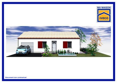 Plan De Maison Plain Pied 2 Chambres 3338 by Constructeurvendee Net 187 Perspectives De Maisons