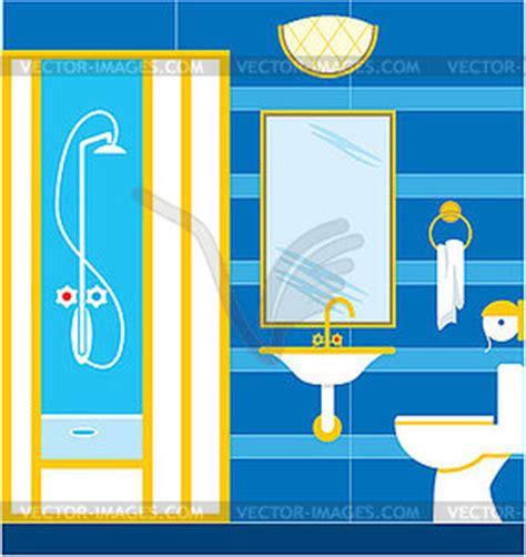 badezimmer clipart badezimmer duschkabine vector clipart vektorgrafik