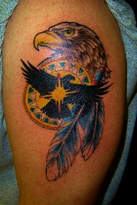 Color Feather Armband Tattoo On Biceps 187 Tattoo Ideas Eagle Feather Tattoos