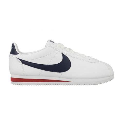 Nike Classic Cortez Leather White Navy nike nike classic cortez leather white navy b19 749571