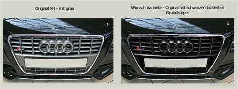 Audi A5 Chromleisten Lackieren by K 252 Hlergrill Wechseln Auf Audi A4 B8