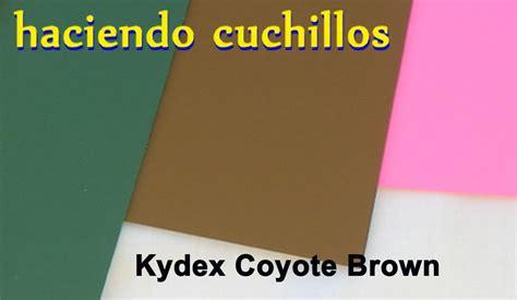 fundas kydex a medida kydex marr 243 n coyote brown haciendo cuchillos