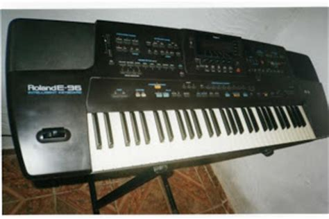 Keyboard Roland E96 how to treat the keyboard roland e96 e86 em network