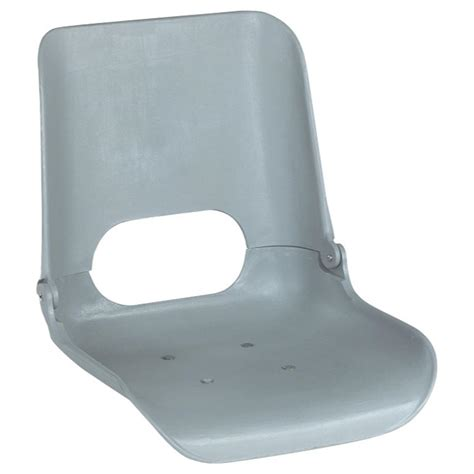 folding molded boat seat wise 174 premium hi back injection molded seat without