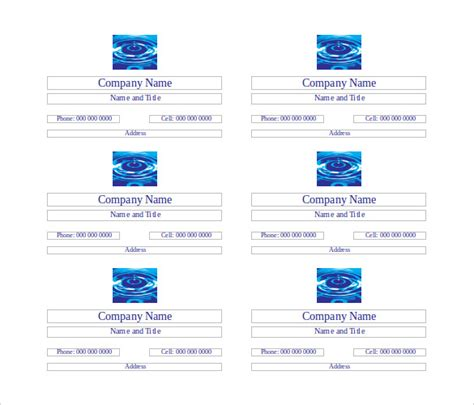 25 free business cards free word pdf psd format