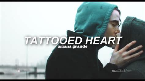 Tattooed Heart Traducida Español   ariana grande tattooed heart traducida al espa 241 ol