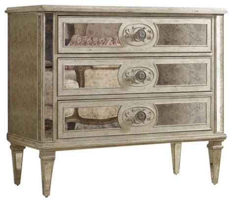 Mirrored Dresser Chest by Three Drawer Antique Mirrored Chest Farmhouse Dressers
