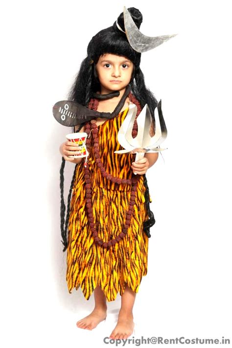 Sheva Dress lord shiva fancy dress for 3 7 yrs rentcostume in