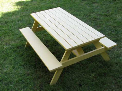 The Laundry Will Wait Kids Picnic Table Picnic Table Plan