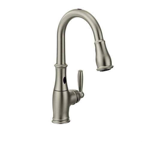 sensor kitchen faucets touchless kitchen faucets moen with motionsense technology