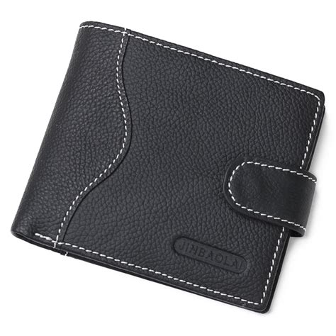Guess Kulit Black 2 Jinbaolai Dompet Kulit Casual Black Jakartanotebook