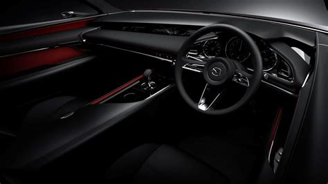 mazda interior 2018 mazda3 previewed with stunning concept