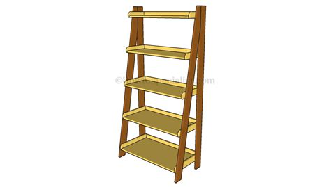 bookcase ladders wooden images ladder shelf bookcase