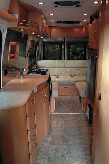 motor home interiors interiors pictures auto news and car reviews