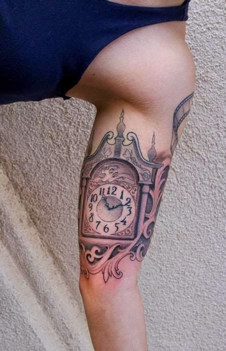 grandfather tattoos grandfather clock designs