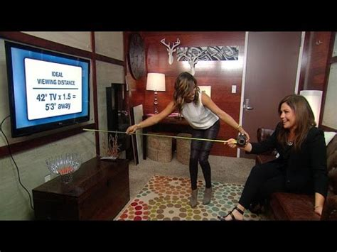 distance tv to sofa how to measure the right distance between your tv and