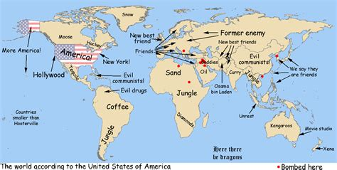 world map america simplified map of the world american version tech