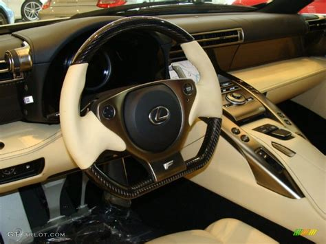 lexus lfa steering wheel 2012 lexus lfa coupe cream steering wheel photo 60723934