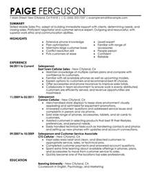 sles of a resume unforgettable mobile sales pro resume exles to stand