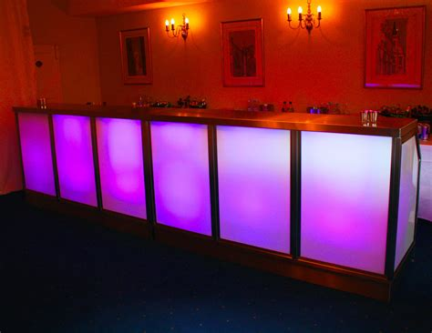 Illuminated Bars by Bespoke Event Bar Hire