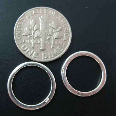 how to make sterling silver jewelry at home wholesale sterling silver 14mm circle closed jumpring