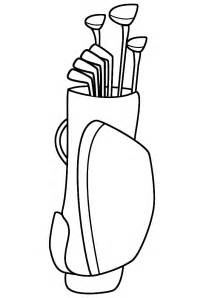 golf coloring pages black and white golf photos cliparts co