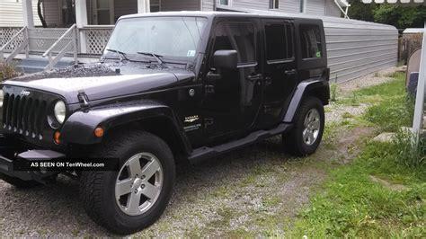 2007 4 Door Jeep Wrangler 2007 Jeep Wrangler Unlimited Sport Utility 4 Door