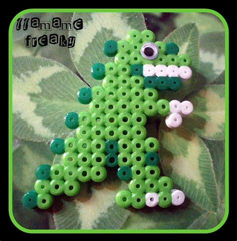 perler dinosaur dino perler perler bead patterns