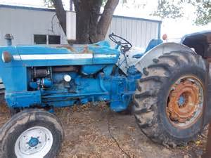 Ford 5000 Tractor 1968 Ford 5000 Tractors Utility 40 100hp Deere