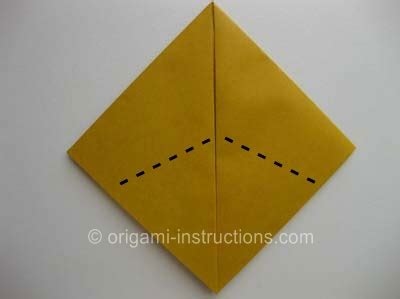 How To Make Cat Ears With Paper - origami folding how to make an origami cat