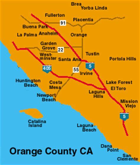 orange county usa map hotels in orange county california usa