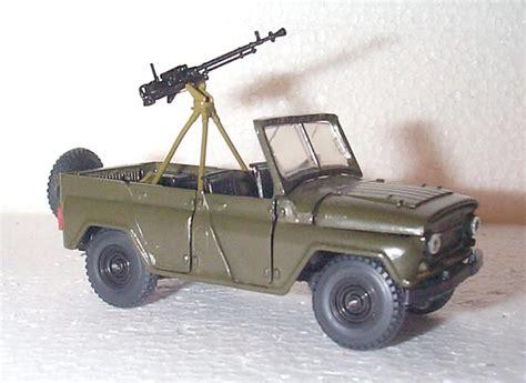 uaz dayz mbk uaz 469 with dshk machine gun in 1 43 scale mdiecast