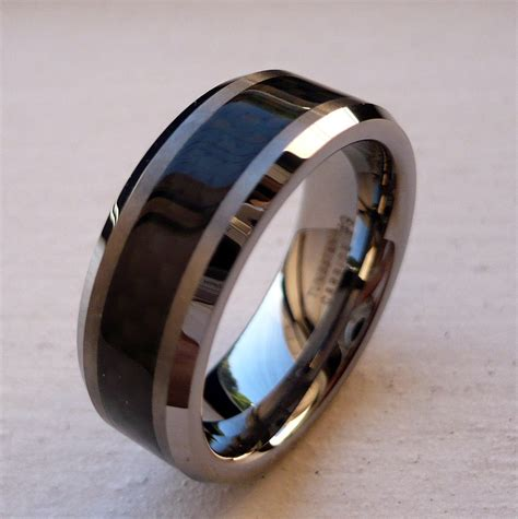 black tungsten wedding bands inspiration and ideas