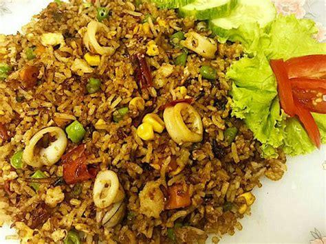 Wajan Buat Nasi Goreng puas masak sendiri nasi goreng sotong belacan ikan bilis pedas menyengit rasa