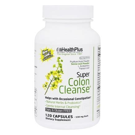 Buy Schwartz Colon Detox Cleanser by Buy Health Plus Colon Cleanse 120 Capsules At