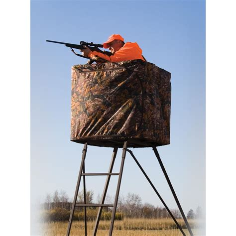 tree stand covers rivers edge 174 perimeter pod curtain 159986 tree stand