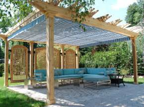 Patio Canopy Ideas Woodwork Pergola Plans With Canopy Pdf Plans