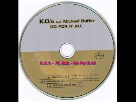 rubber boot buffer k o s feat michael buffer go for it all rubberboot