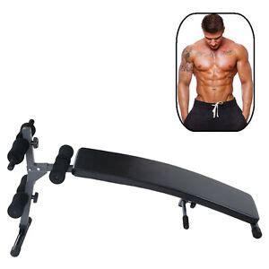 adjustable decline bench incline sit up slant board ab fitness board workout ebay