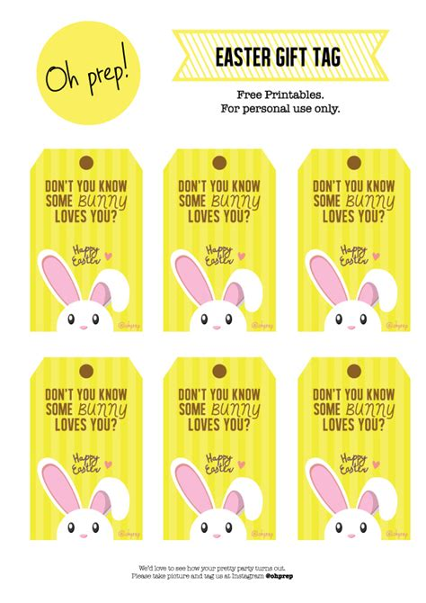 printable easter basket gift tags free printables easter gift tag anything about prepping