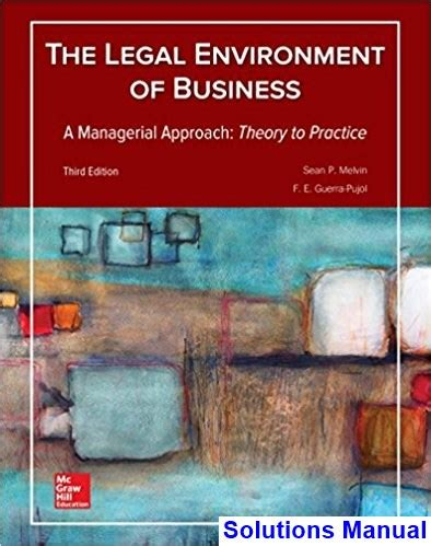 Pdf Environment Business Managerial Approach by Environment Of Business A Managerial Approach Theory