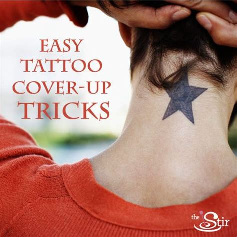 how to cover a tattoo with makeup 5 cover up tips using the magic of makeup