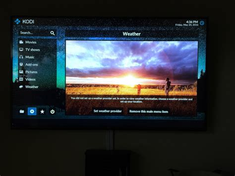 wallpaper apple tv 4 apple tv 4 kodi 17 wallpaper change writeup d