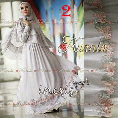 Pusat Grosir Baju Muslim Loria Syari Jersey inexis syari by kurnia 2 baju muslim gamis modern