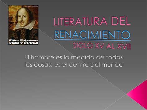 imagenes figurativas y sus autores literatura renacimiento