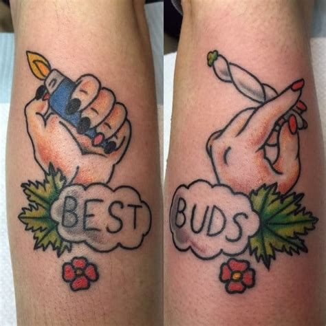 best bud tattoos for bud smokers tattoodo