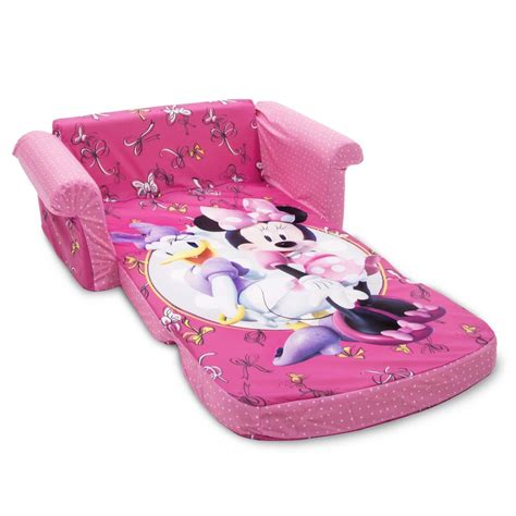 spin master marshmallow furniture flip open sofa minnie