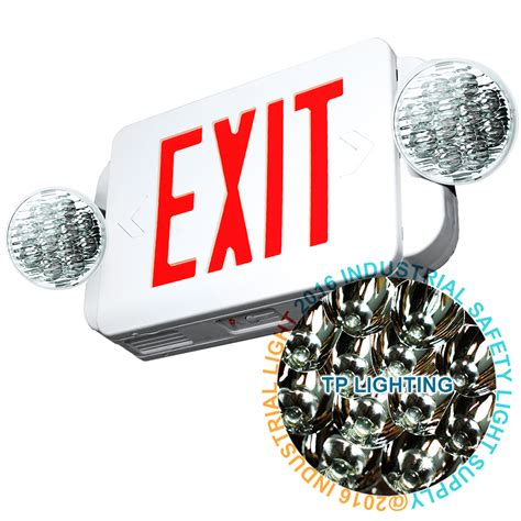 Lu Emergency Combo Bulb led exit sign emergency light high output
